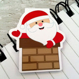 Jolly Santa Magnetic Bookmark-Magnetic Bookmark-My Pretty Week