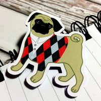 Pug Life Magnetic Bookmark-Magnetic Bookmarks-My Pretty Week