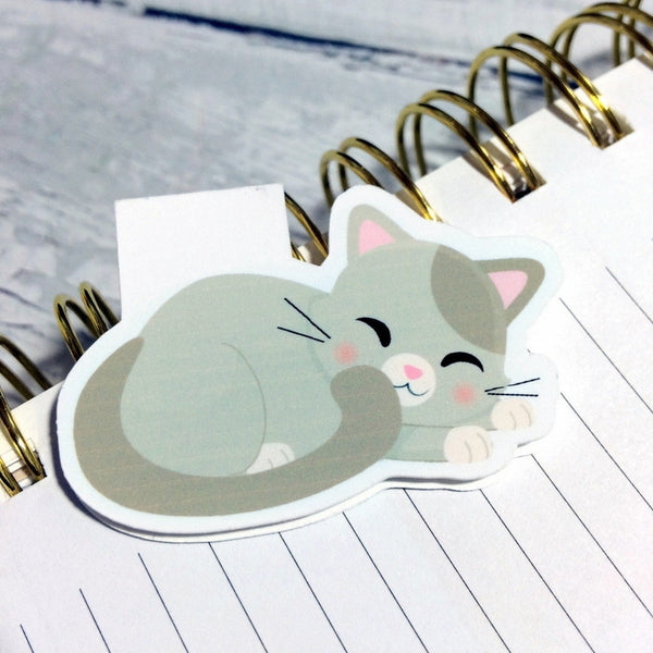 Cat Magnetic Bookmark-Magnetic Bookmarks-My Pretty Week