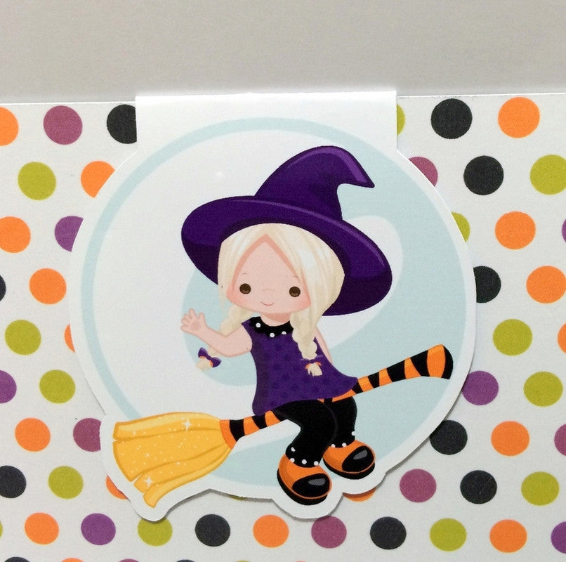 Little Witch Magnetic Bookmark-Magnetic Bookmark-My Pretty Week