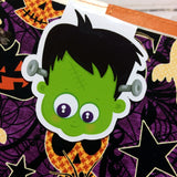 Lil Frank Halloween Magnetic Bookmark-Magnetic Bookmark-My Pretty Week