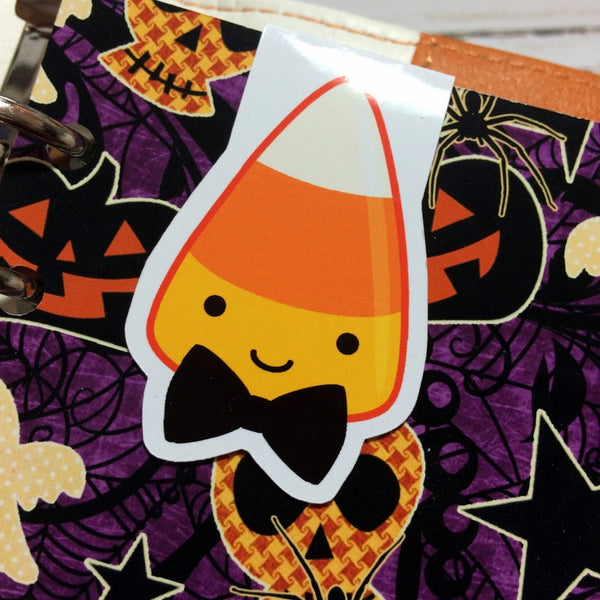 Candy Corn Halloween Magnetic Bookmark-Magnetic Bookmark-My Pretty Week