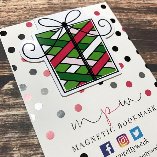 Bright Christmas - Gift 2 - Magnetic Bookmark-Christmas Magnetic Bookmark-My Pretty Week