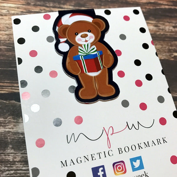 For You - Christmas Eve Bears - Magnetic Bookmark-Christmas Magnetic Bookmark-My Pretty Week