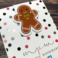 Gingerbread Man - Magnetic Bookmark-Magnetic Bookmark-My Pretty Week