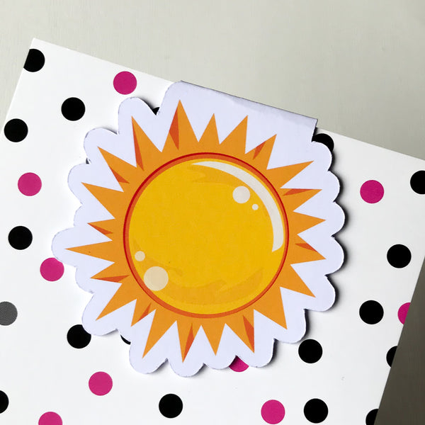 Sun Magnetic Bookmark-Magnetic Bookmark-My Pretty Week