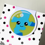 Earth Magnetic Bookmark-Magnetic Bookmark-My Pretty Week