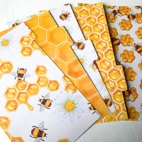 Honey Bee set of 5 Planner Dividers-Planner Dividers-My Pretty Week