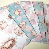 Owls ver 1 set of 5 Planner Dividers-Planner Dividers-My Pretty Week