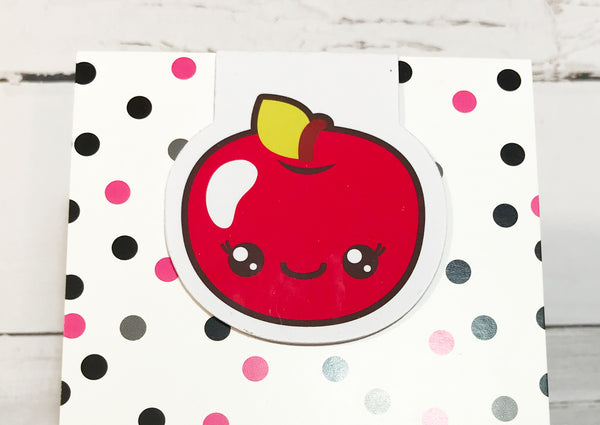 Back to School | Apple | Magnetic Bookmark-Magnetic Bookmark-My Pretty Week