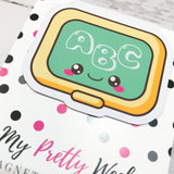 Back to School | Chalkboard | Magnetic Bookmark-Magnetic Bookmark-My Pretty Week