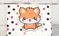 Fox - In the Woods | Magnetic Bookmark-Magnetic Bookmark-My Pretty Week