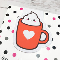 Cute Cup - Pumpkin Spice Everything | Magnetic Bookmark-Magnetic Bookmark-My Pretty Week