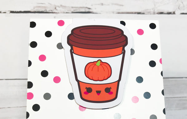 Pumpkin Spice Latte - Pumpkin Spice Everything | Magnetic Bookmark-Magnetic Bookmark-My Pretty Week