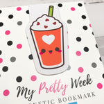 Pumpkin Frappe - Pumpkin Spice Everything | Magnetic Bookmark-Magnetic Bookmark-My Pretty Week