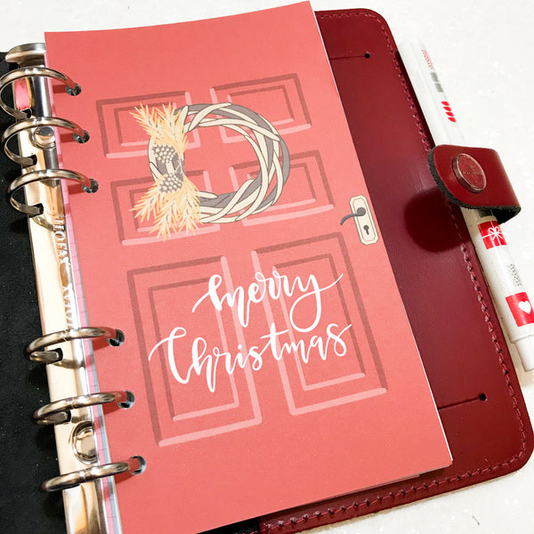 Contemporary Christmas Planner Dashboard-Planner Dashboard-My Pretty Week