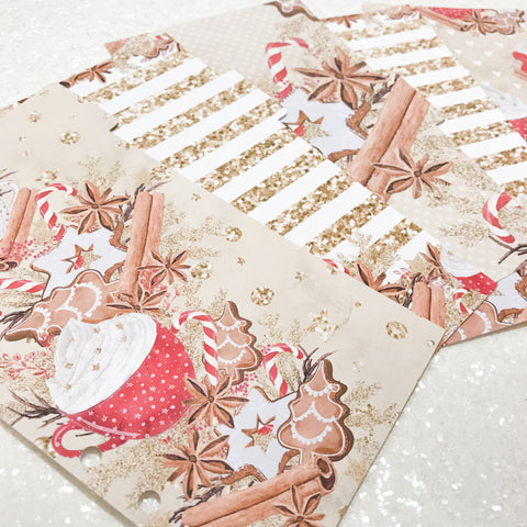 Cocoa and Cookies Set of 5 Planner Dividers-Planner Dividers-My Pretty Week