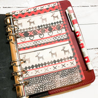 Christmas Sweater of 5 Planner Dividers-Planner Dividers-My Pretty Week