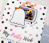 Gloria The Ghost Magnetic Bookmark - Scary Movie-Magnetic Bookmark-My Pretty Week