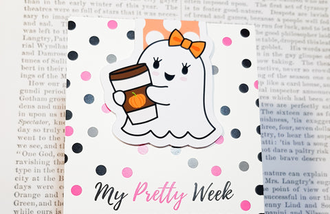 Gloria The Ghost Magnetic Bookmark - PSL-Magnetic Bookmark-My Pretty Week