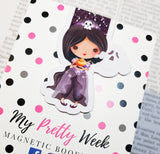 Halloween Costume Party Magnetic Bookmark-Magnetic Bookmark-My Pretty Week