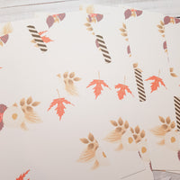 Early Autumn Set of 5 Planner Dividers-Planner Dividers-My Pretty Week