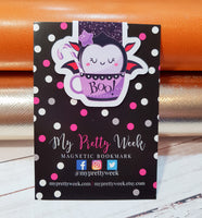Cute n Creepy Cupcakes Magnetic Bookmark-Magnetic Bookmark-My Pretty Week