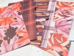 Flowers in the Fall Set of 5 Planner Dividers-Planner Dividers-My Pretty Week