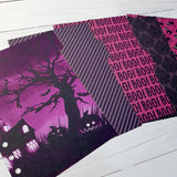 Haunted House - Set of 5 Planner Dividers-Planner Dividers-My Pretty Week