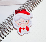 Mrs Claus Magnetic Bookmark-Magnetic Bookmark-My Pretty Week