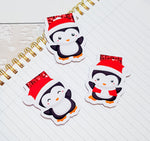 Cutie Penguin Magnetic Bookmarks (3)-Magnetic Bookmark-My Pretty Week