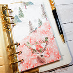 The Stag Folder Divider. Divider with Pocket for A5 and Personal Ring Planners, to fit Classic and Mini Size Happy Planners., and EC Life Planner-Folder Divider-My Pretty Week