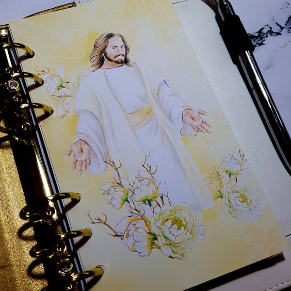 He Is Risen. Easter Planner Dashboard