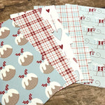 Country Christmas Cottage Set of 5 Planner Dividers-Planner Dividers-My Pretty Week