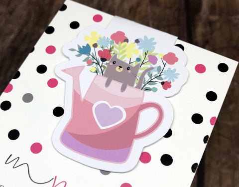 Meow Magnetic Bookmark - myprettyweek