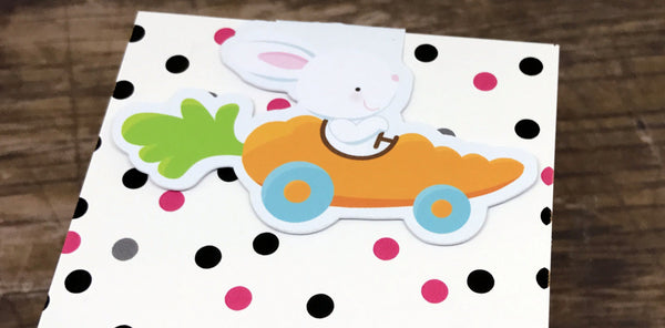 Bunny Fun Magnetic Bookmark-Magnetic Bookmark-My Pretty Week