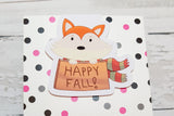 Fall Foxes | Happy Fall Fox | Magnetic Bookmark-Magnetic Bookmark-My Pretty Week
