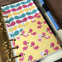 Flamingo - Planner Folder-Folder Divider-My Pretty Week