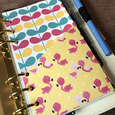 Flamingo - Planner Folder