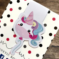 Happy Birthday to Unicorn - Magnetic Bookmark - Unicorn Balloon-Magnetic Bookmark-My Pretty Week