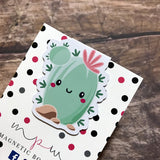 Magnetic Bookmark - Happy Cactus-Magnetic Bookmark-My Pretty Week