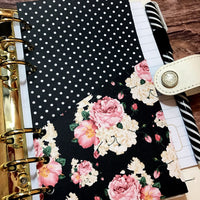 Floral Noir Planner Folder-Folder Divider-My Pretty Week