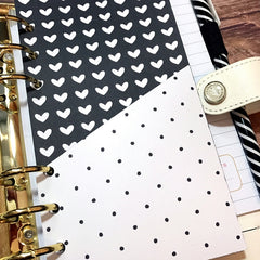Polka Dot Love Planner Folder