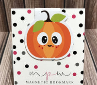 Freckled Pumpkin Magnetic Bookmark - Pumpkin Patch-Magnetic Bookmark-My Pretty Week