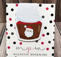 Cupcake - Sweet Treats - Magnetic Bookmark-Christmas Magnetic Bookmark-My Pretty Week