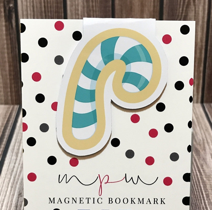 Candy Cane - Sweet Treats - Magnetic Bookmark-Christmas Magnetic Bookmark-My Pretty Week