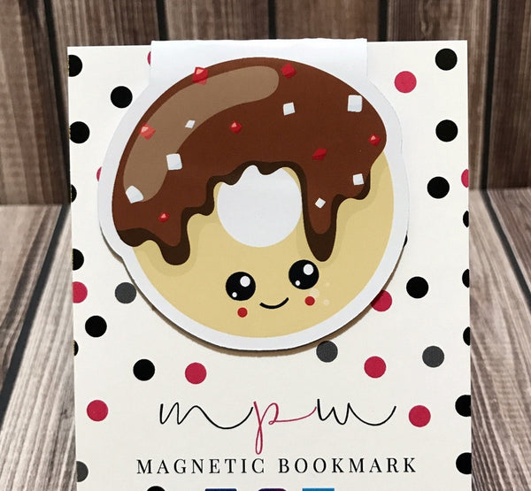 Doughnut - Sweet Treats - Magnetic Bookmark-Christmas Magnetic Bookmark-My Pretty Week
