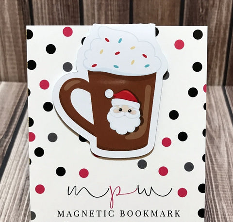 Hot Chocolate - Sweet Treats - Magnetic Bookmark-Magnetic Bookmark-My Pretty Week