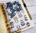 Nesting Dolls Folder Divider. Divider with Pocket for A5 and Personal Ring Planners, to fit Classic and Mini Size Happy Planners.-Folder Divider-My Pretty Week