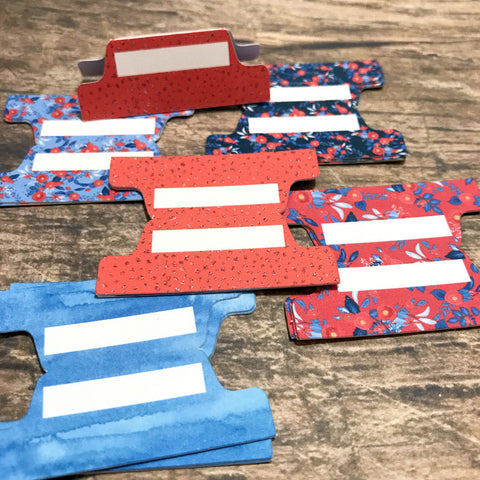 Planner Tabs - Red White & Blue (15)-Planner Tabs-My Pretty Week